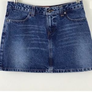 Old Navy Blue Jeans denim mini skirt.